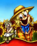 Sweet sunflower!