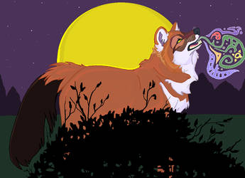 MS Paint: Dhole's Song by wadifahtook