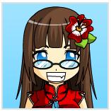 Me on Anime face maker by akatsukigirl1214