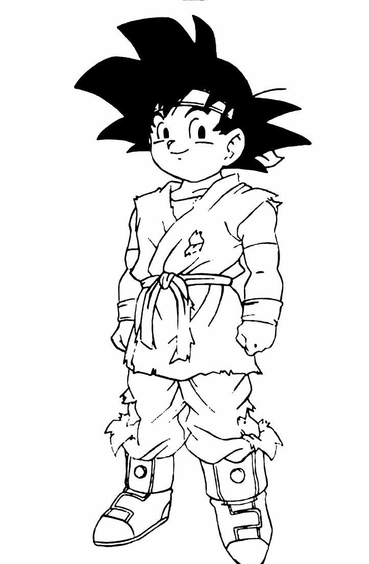 Goku Jr. Dragon Ball GT by Turunksun on DeviantArt