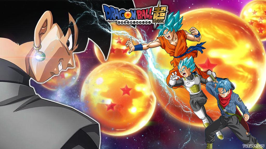 Dragon Ball Super Saga Goku Black Wallpaper By Turunksun On Deviantart