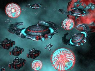 orz battle fleet by cyberskull34