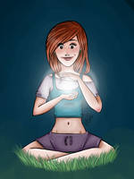 Harry Potter: Ginny by clarkey-lou