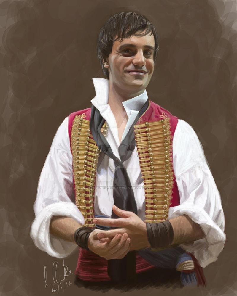 Les Miserables: Ramin Karimloo as Enjolras by clarkey-lou