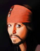 Jack Sparrow by clarkey-lou