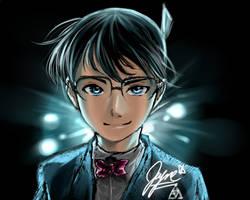 Blue - Detective Conan Fanart by BayneyJayney