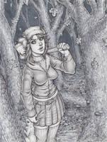 Monster Season: Autumn Werewolf by dpdagger