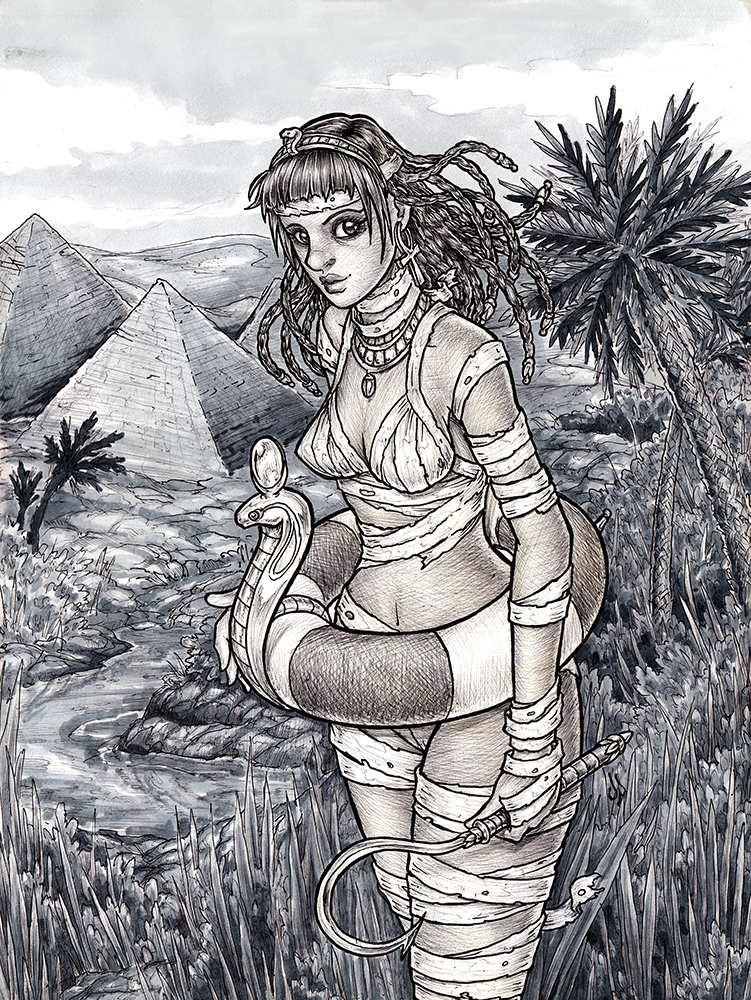 Monster Season: Summer Mummy by dpdagger