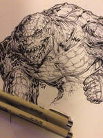 Killer Croc by dpdagger