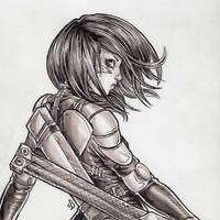 Battle Angel by dpdagger