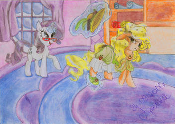 You lost, Apple Jack! by Agnesika