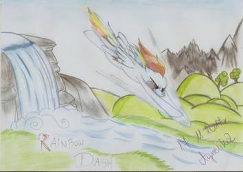Rainbow Dash's specjality-Sonic Boom by Agnesika