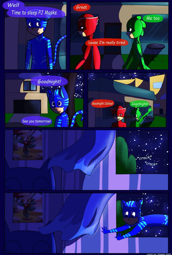 Broken Masks-Prologue [PAGE 4] by Dapple-ishh on DeviantArt
