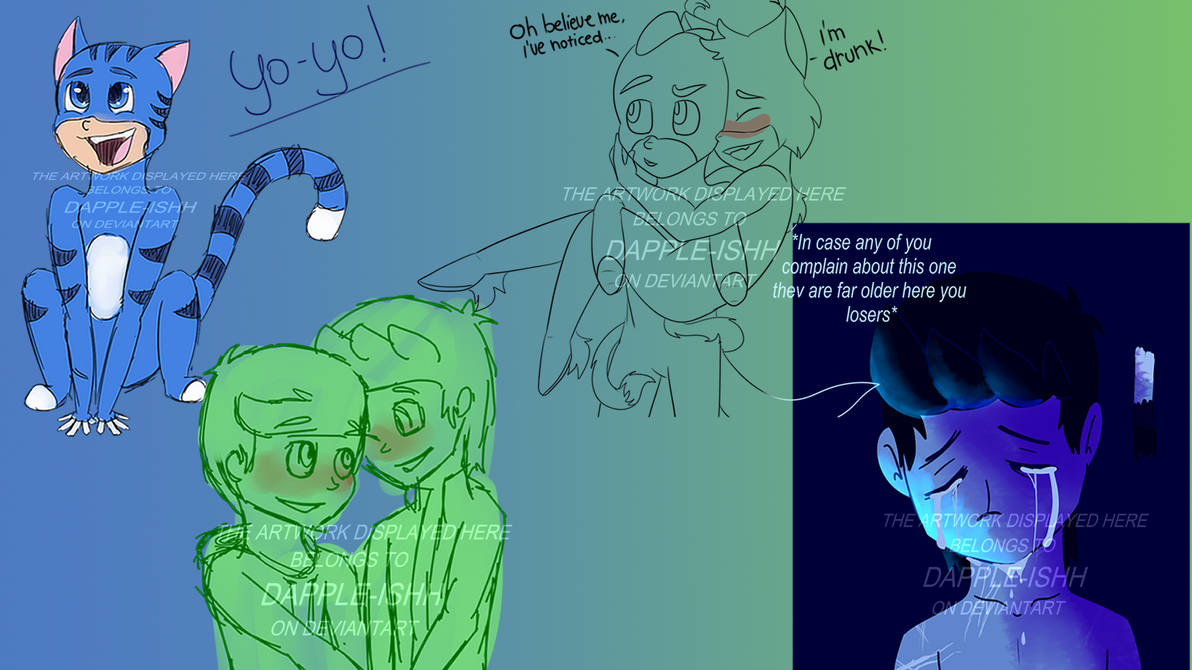 Stuff that I'll never finish or submit 1 by Dapple-ishh on DeviantArt