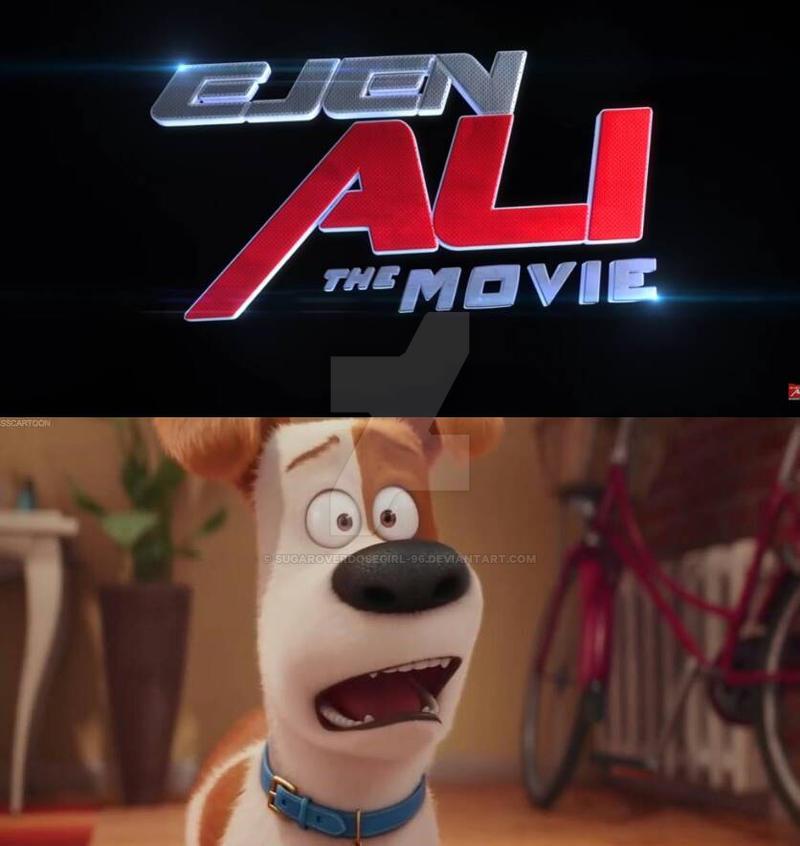 Max is shocked about Ejen Ali The Movie by sugaroverdosegirl-96