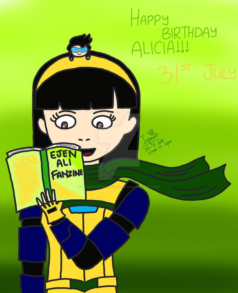 Happy Birthday, Alicia! By Sugaroverdosegirl-96 On DeviantArt