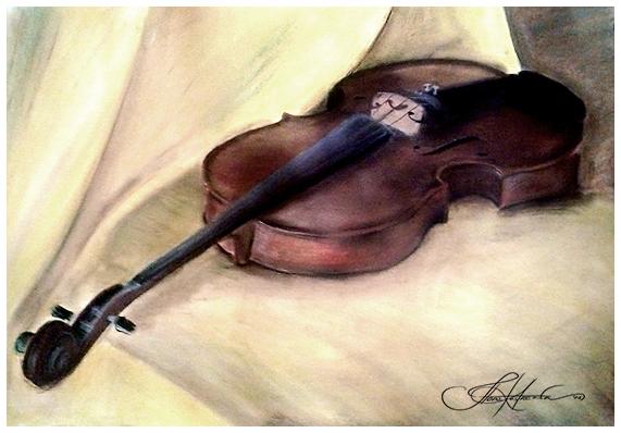 Violin by ilo-ka