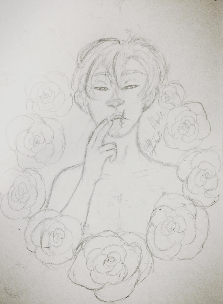 Bed of Roses (WIP) by Egoamores