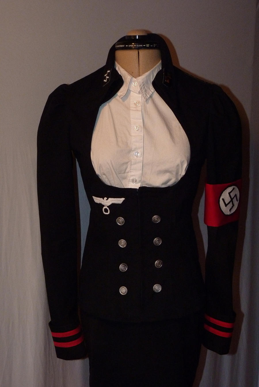 Nazi uniform female