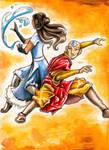 Power Couple: Aang and Katara