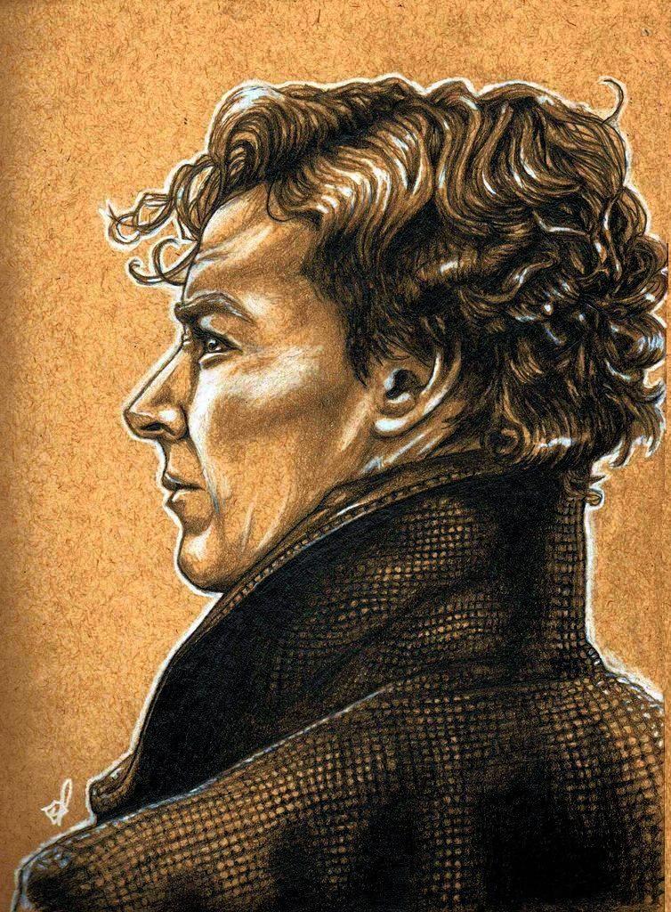 Sherlock - Benedict Cumberbatch by shazam26