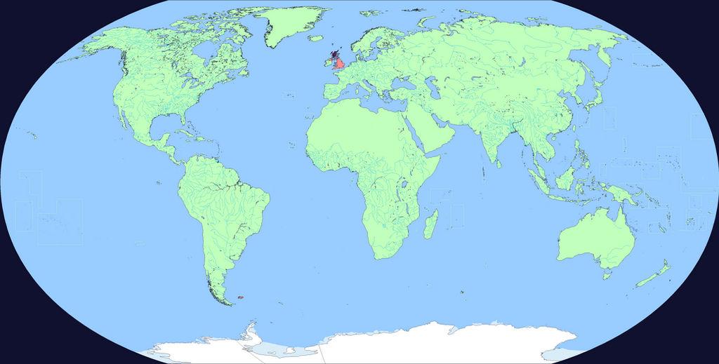 United Kingdom World Map Linguistic World Map 1: WIP 1 (United Kingdom) by Neneveh on