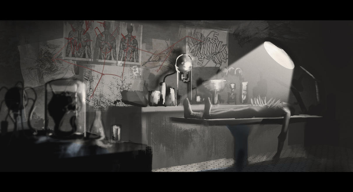 Mad Doctors Laboratory - Speed Painting by BrandonStricker