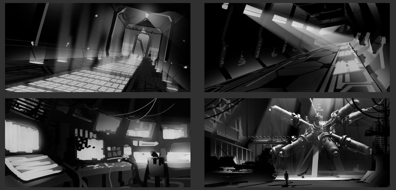 Thumbnail Sketches by BrandonStricker