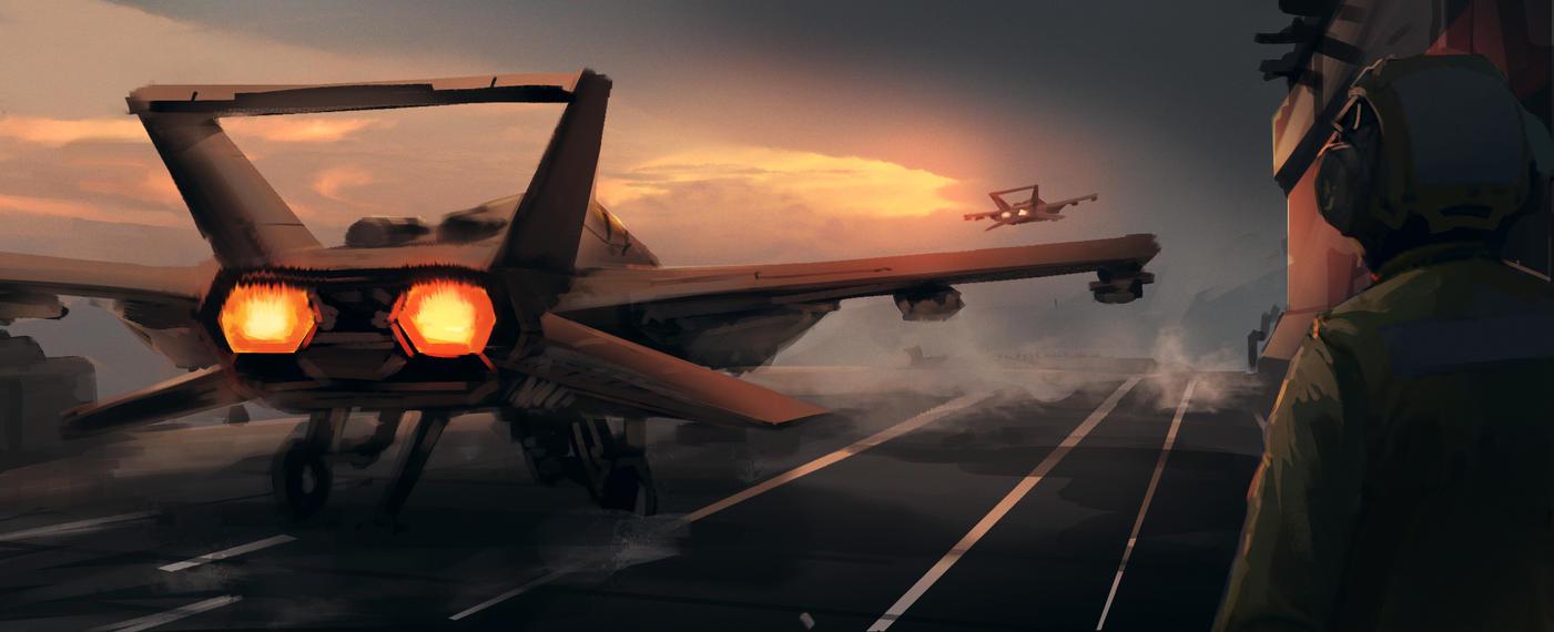 Take off by BrandonStricker
