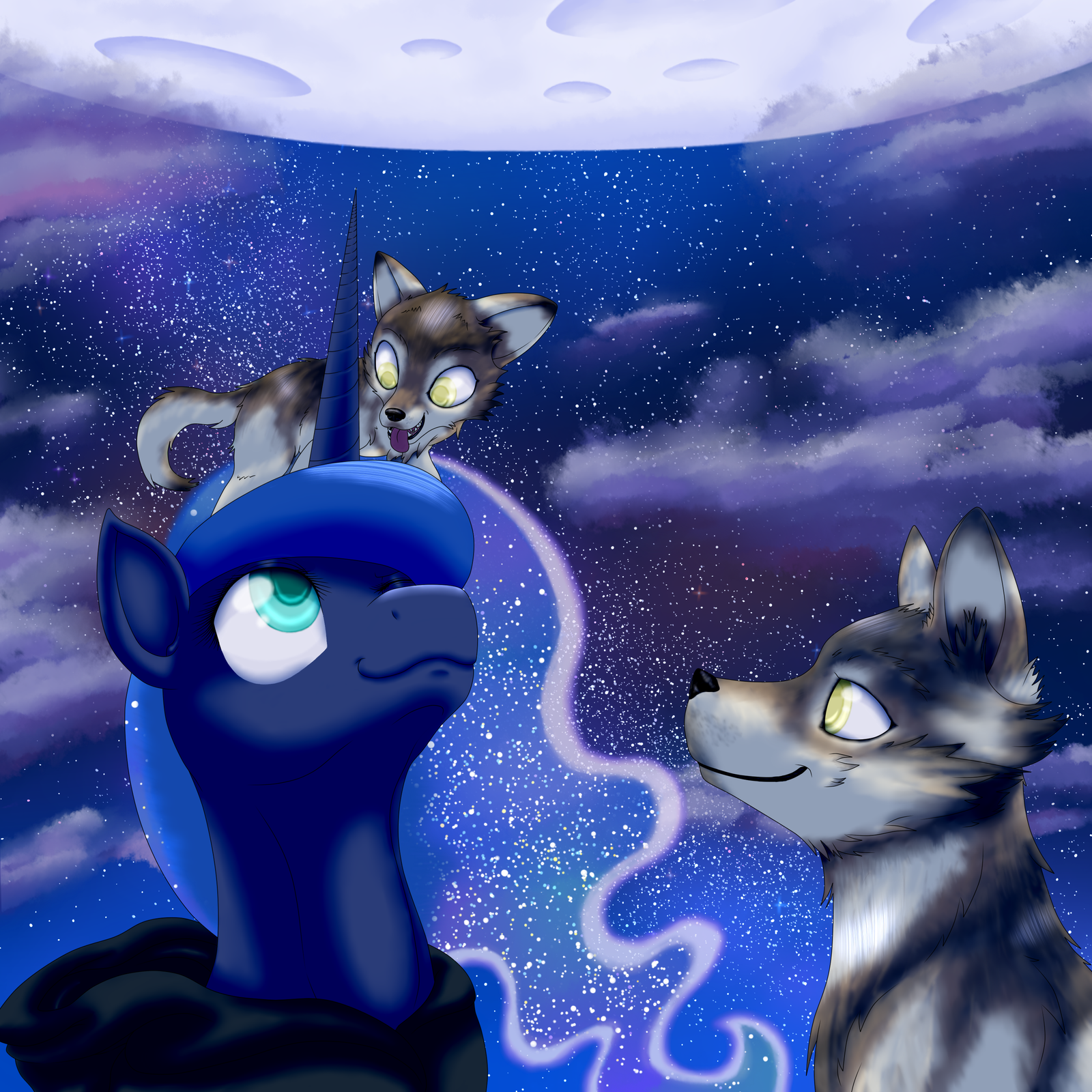 Over The Moon by HavikM66
