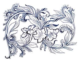 Flowers infinity by Krav1tzz