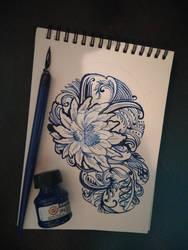 Pattern flower by Krav1tzz