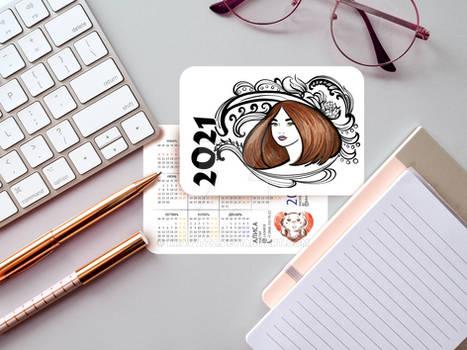 Calendar from 2021