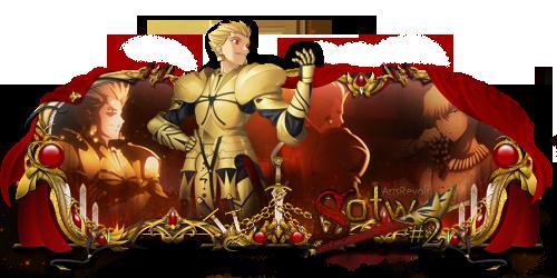 Sign Sotw#2 - Gilgamesh (Fate Stay Night) by kryser