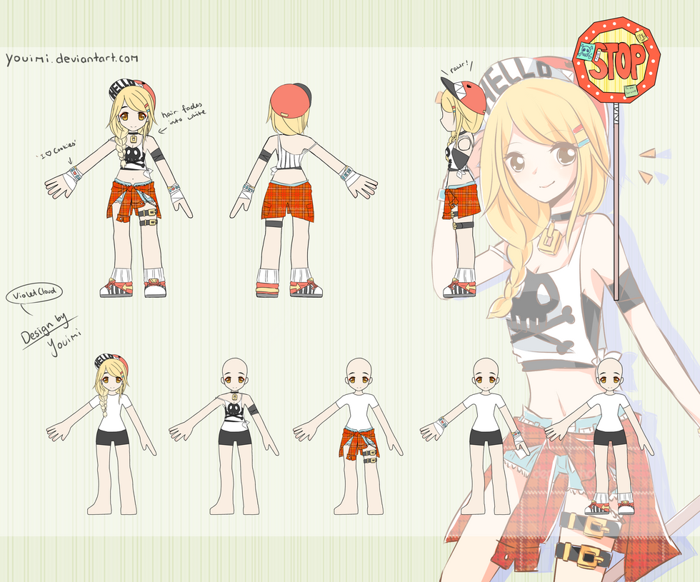 Character Design Contest 2014 : Elsword costume design contest by tssi on deviantart