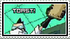 Professor Membrane Toast Stamp