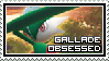 Gallade Obsessed Stamp