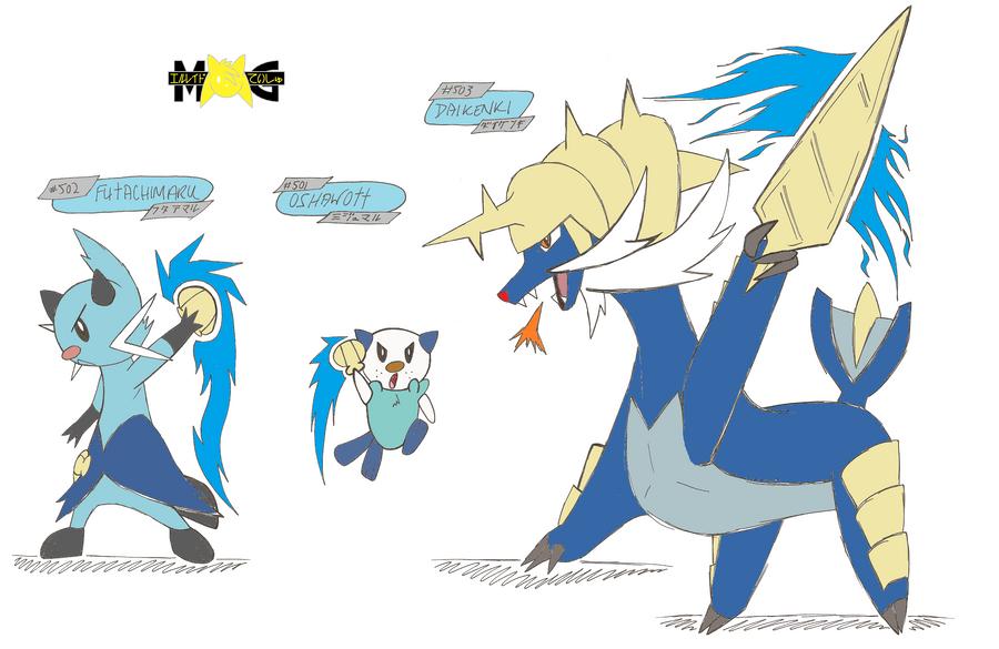 Chibi Dewott Pokemon Images | Pokemon Images