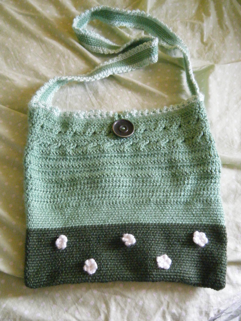 Crocheted Bag by Zhonaluz