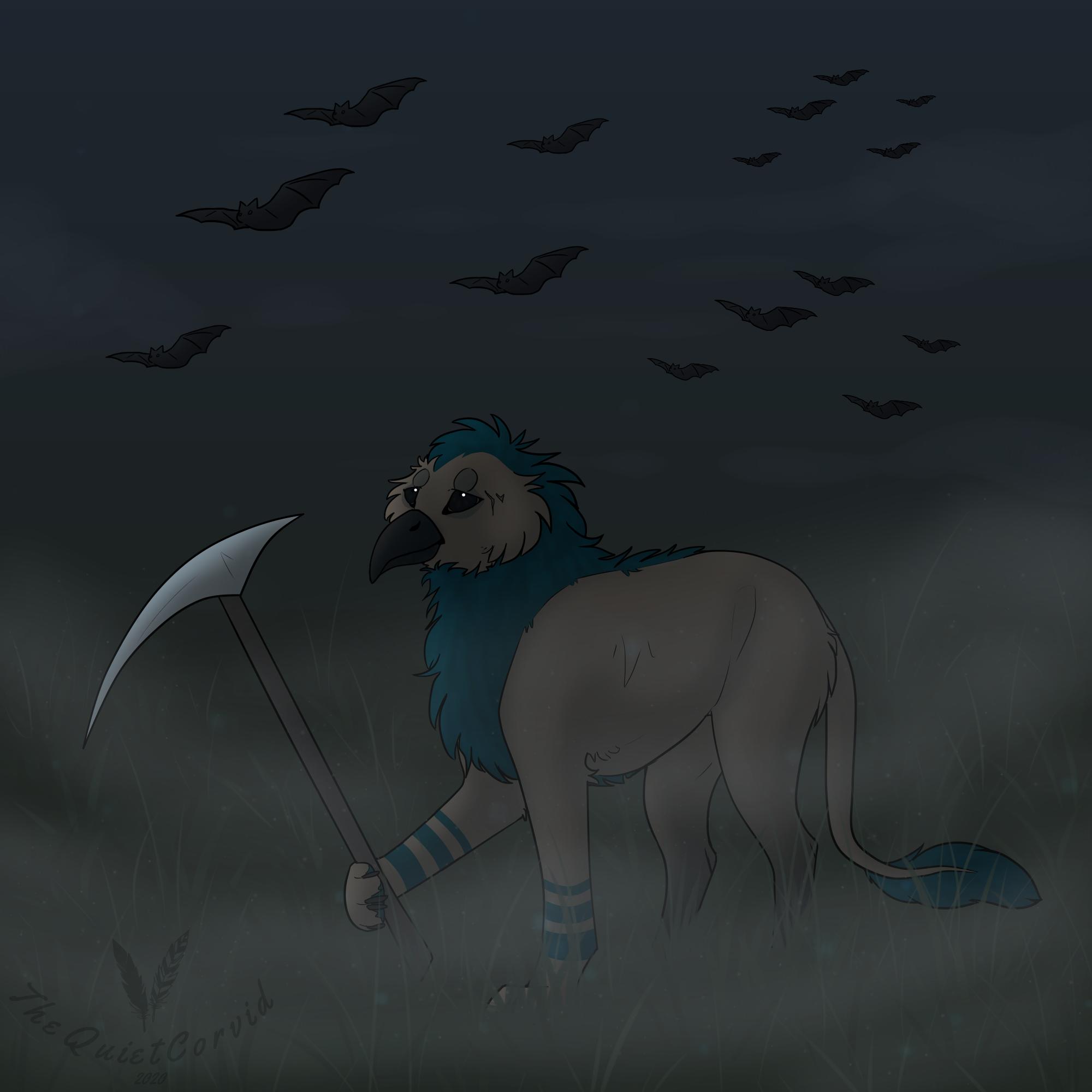 Spooktober | Day 1 - Bats