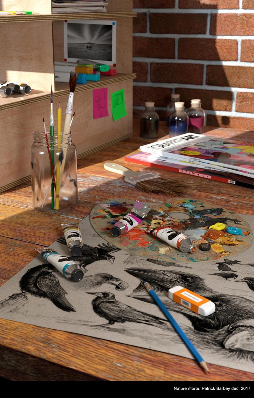 Art workshop by P4t3arb
