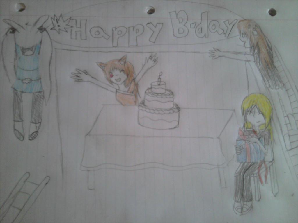 Happy Birthday RielaOmavi by ShualeeCreativity