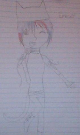 Pop idol Emi .: sketch :. by ShualeeCreativity