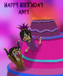 Happy 22 anniversary of your life Amy