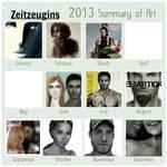 Mein Zeichenjahr 2013