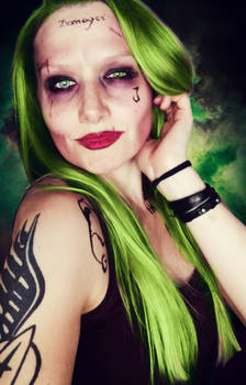 The Joker Make-Up