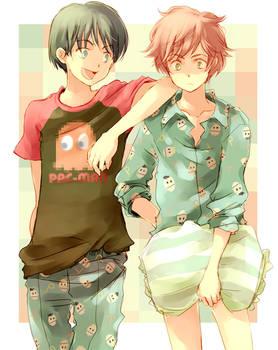 shared pajamas