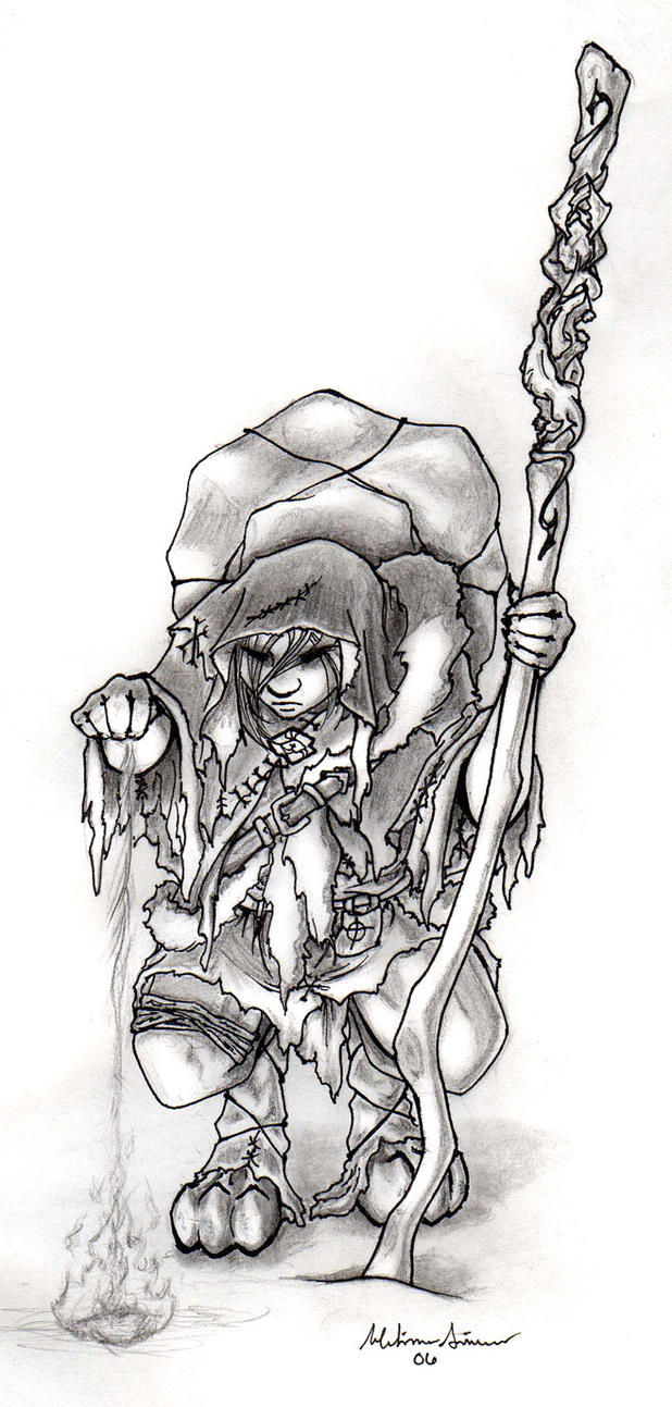 The Wanderer by Marubaii