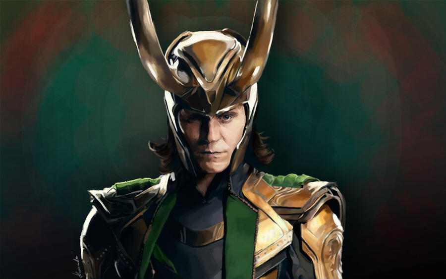 Tom Hiddleston - Loki by playmonster
