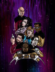 Star Trek TNG manga style